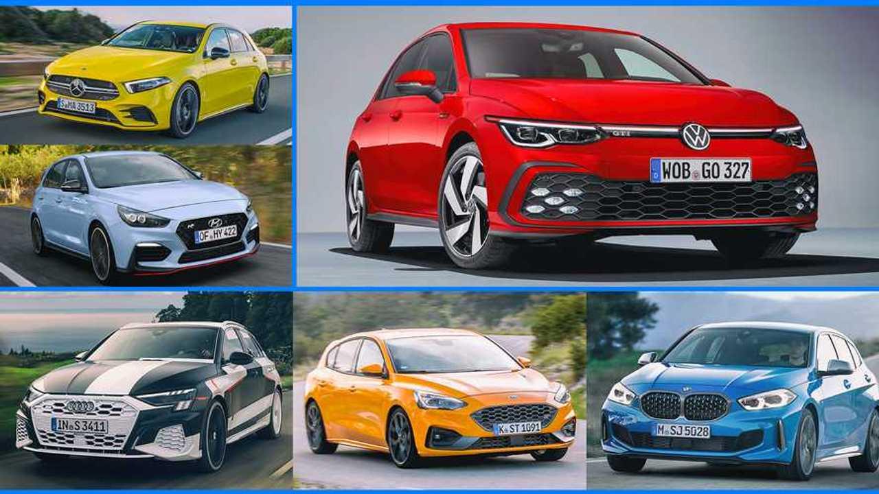 Volkswagen Golf GTI Konkurrenten