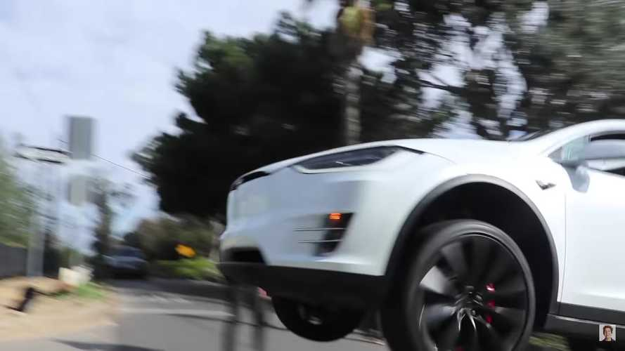 NSFW: A Flying Tesla Model X Shows Us What's Wrong With YouTube