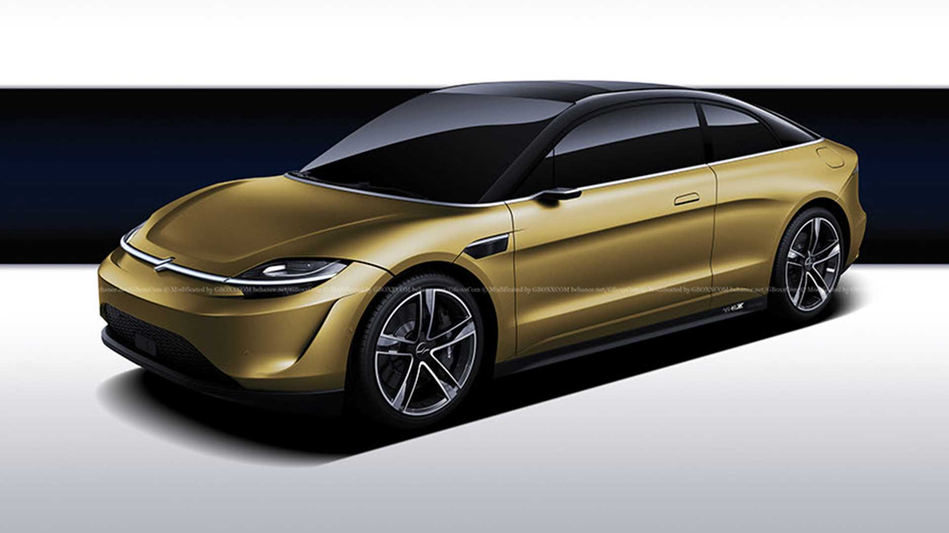 Sony Concept Car Looks Even Better As A Coupe