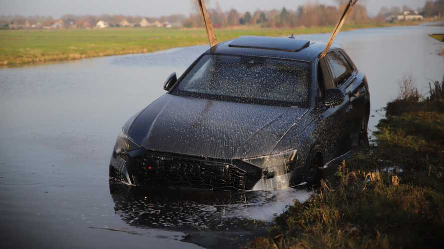 2020 Audi RS Q8 Sleeps With The Fishes In The Netherlands