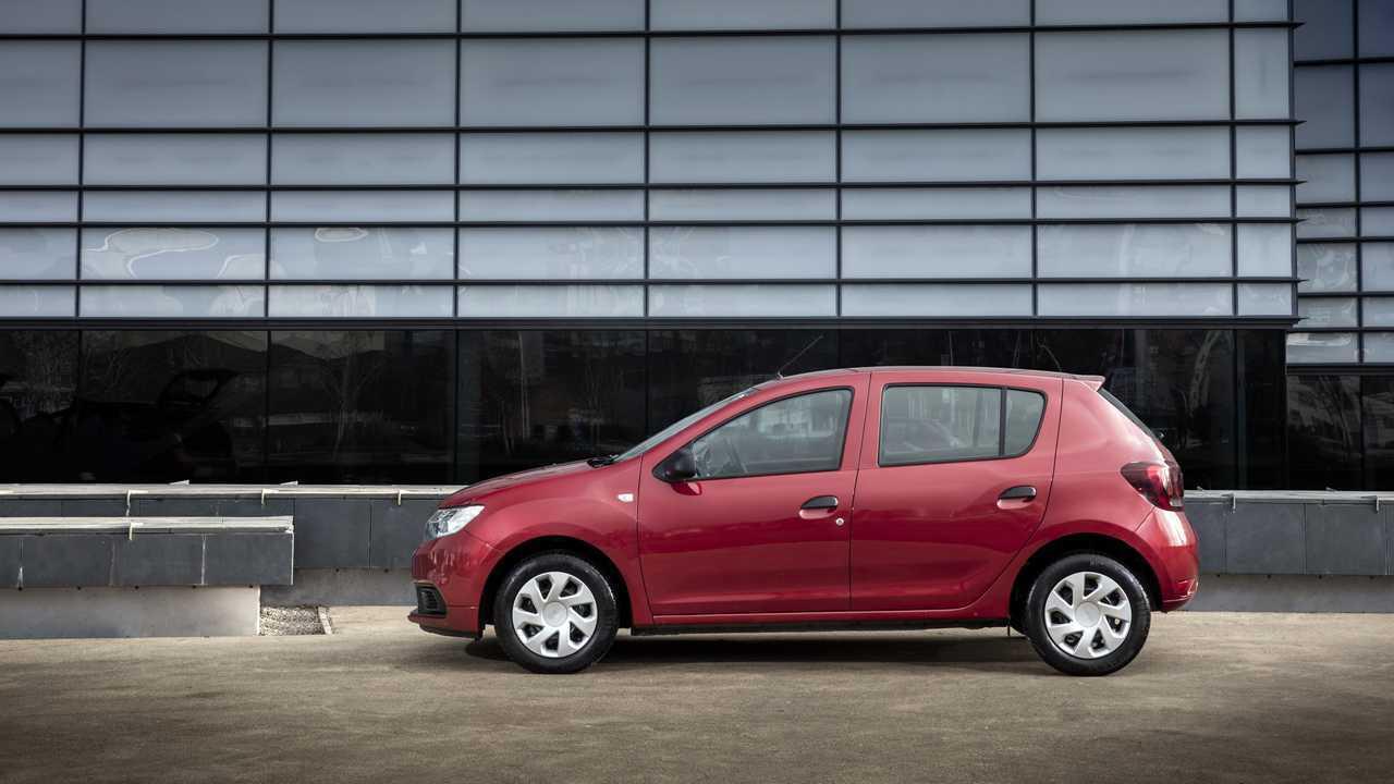 Dacia Sandero - Allemagne, Rouaume-Uni, Espagne et Italie