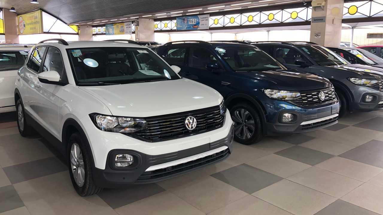 VW TCross loja