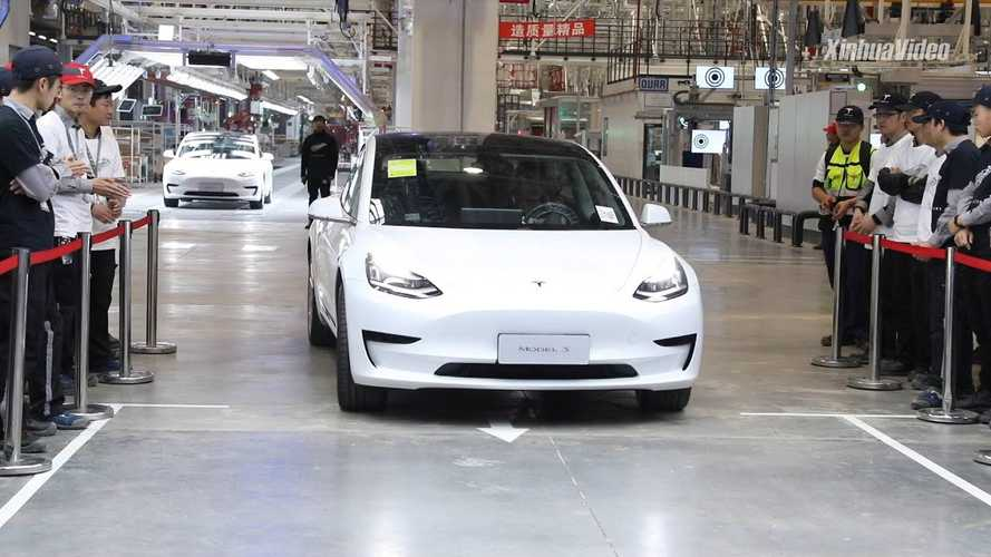 Deliveries Of The Made-in-China Tesla Model 3 Start: Videos