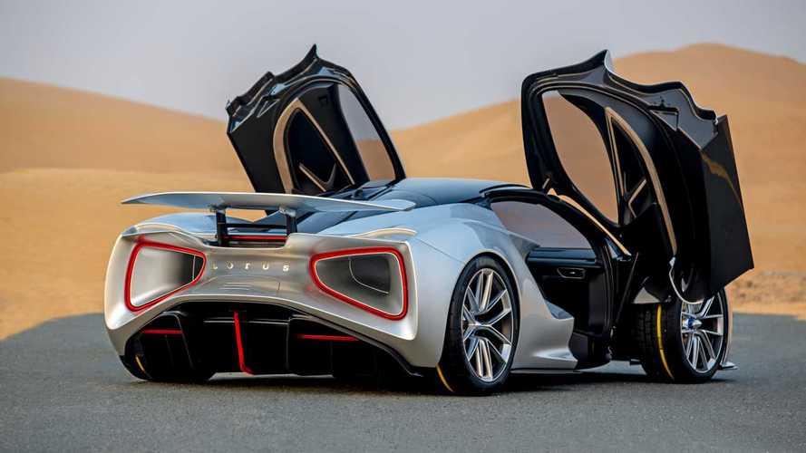 Lotus Evija, o supercarro elétrico