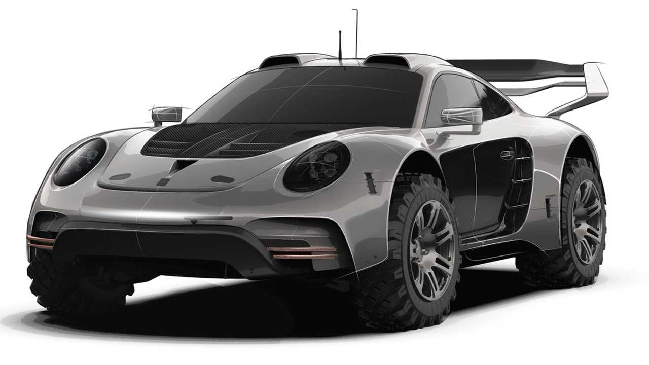 Gemballa Avalanche 4x4 based on the Porsche 911