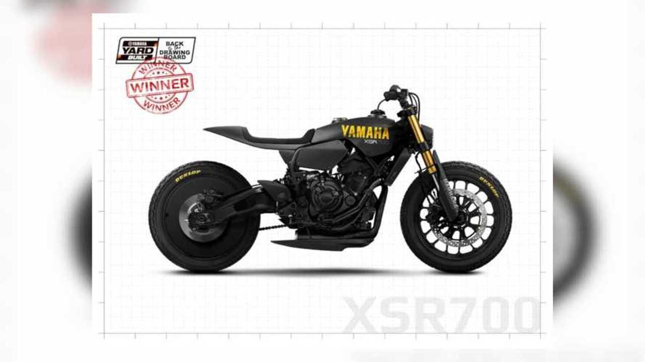 Yamaha XSR 700 Disruptive Design