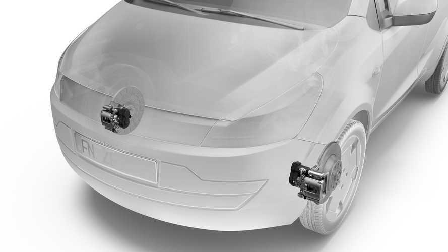 ZF zeigt die erste elektrische Parkbremse für die Vorderachse