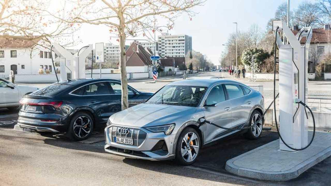 Borne de recharge Audi