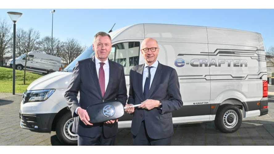 Chronopost Orders 420 Volkswagen e-Crafter