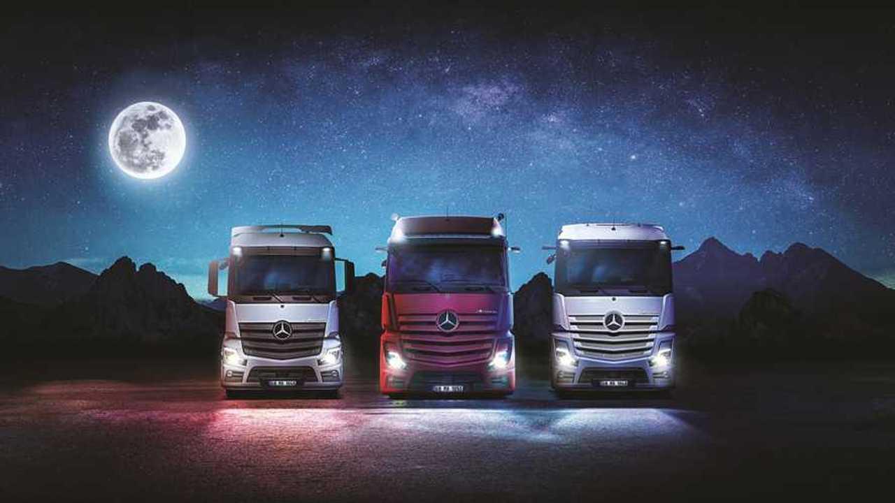 Yerli üretim Mercedes-Benz Actros Türkiye'de