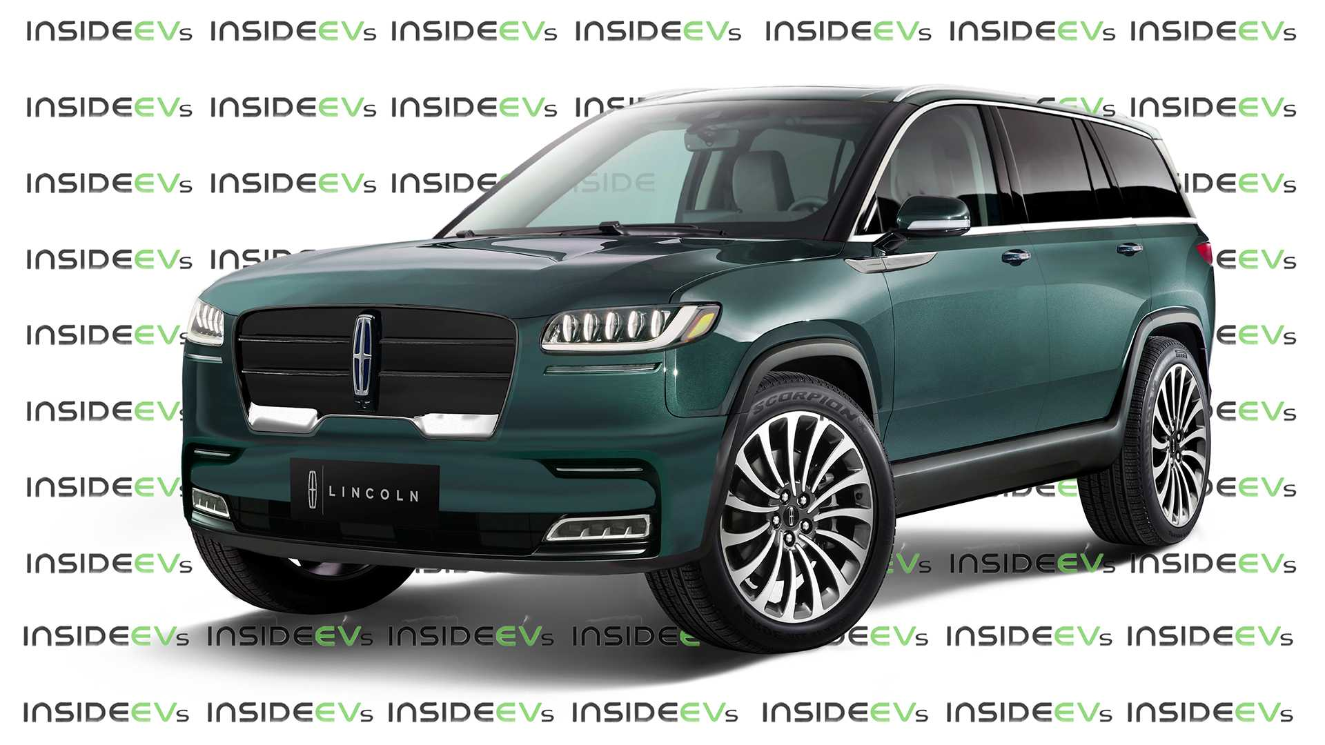 Rivian-Based Lincoln Electric SUV Rendered Into View