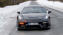 Porsche 718 Cayman GT4 RS spy photos