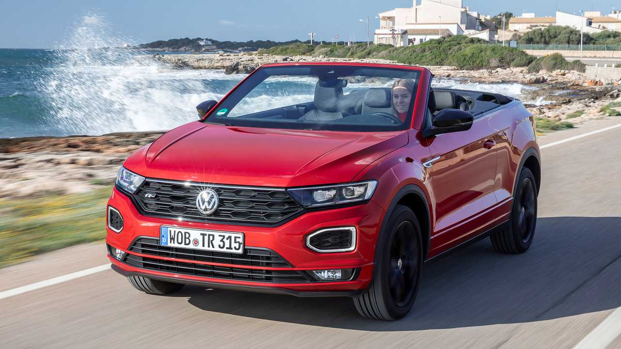 VW T-Roc Cabriolet (2020) On Location