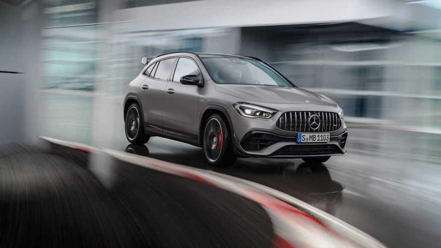 Новый Mercedes-Benz GLA получил самую мощную «турбочетверку»