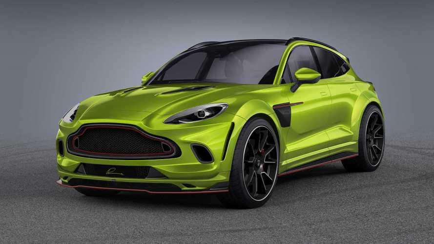 Lumma möbelt den Aston Martin DBX auf