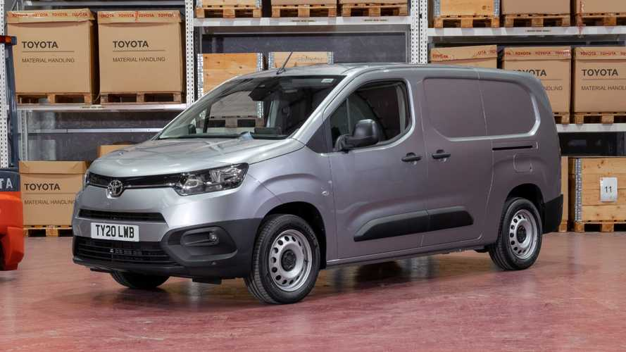Toyota launches new £18k Proace City compact van