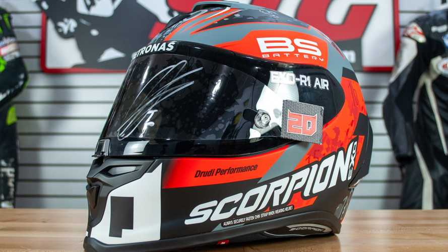 Healthcare Pros, You Can Win A Fabio Quartararo-Signed Helmet!