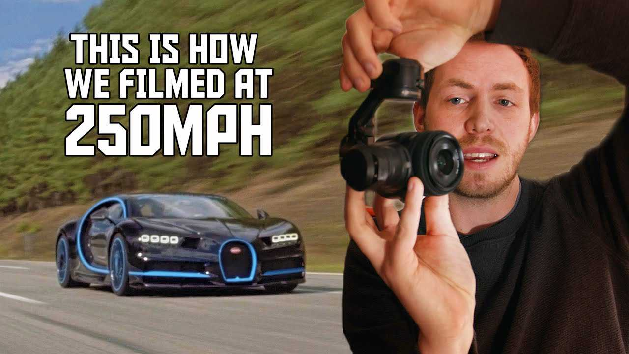 See How The Bugatti Chiron Record-Setting 249-MPH Run Was Filmed - Motor1