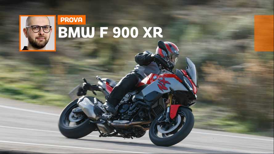 BMW F 900 XR - TEST