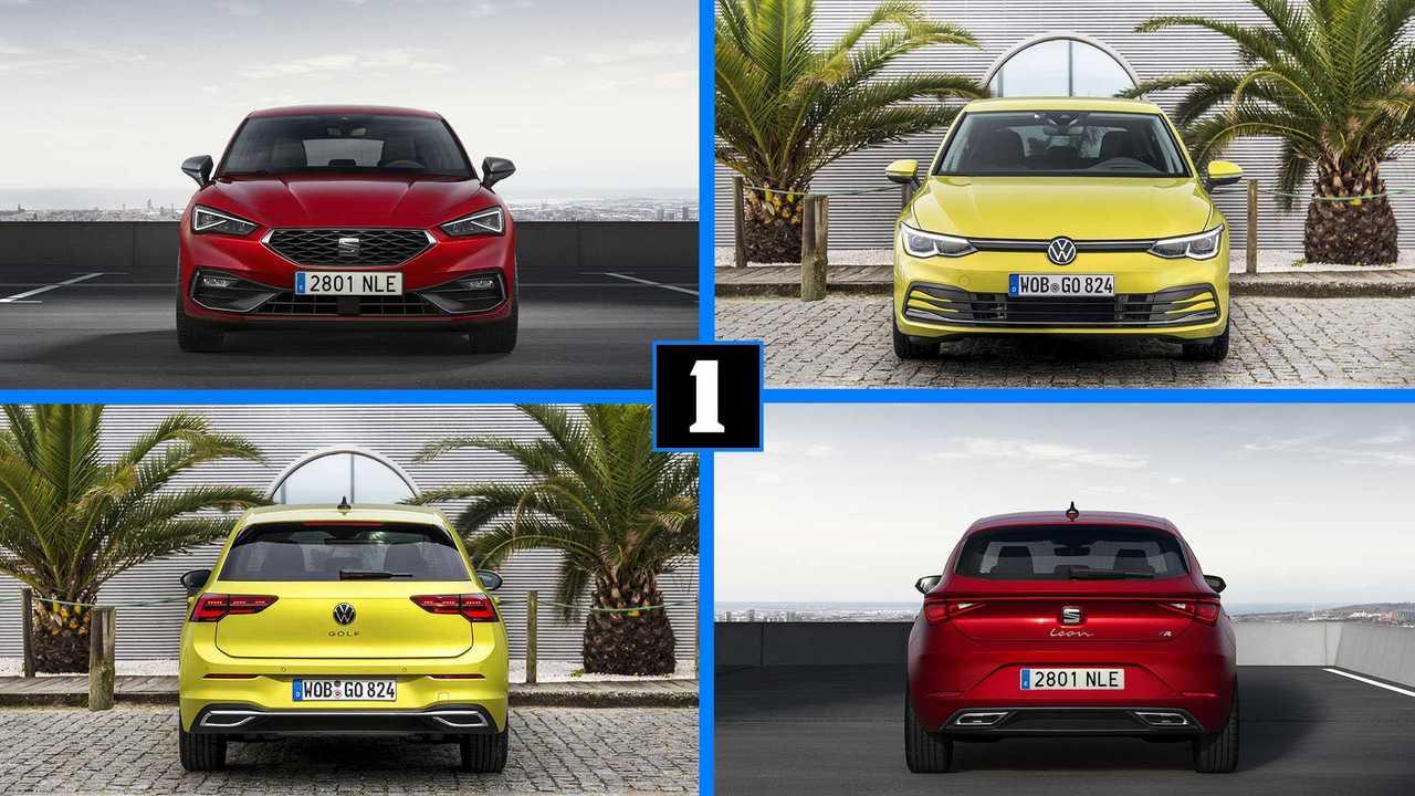 SEAT León 2020 vs Volkswagen Golf 2020