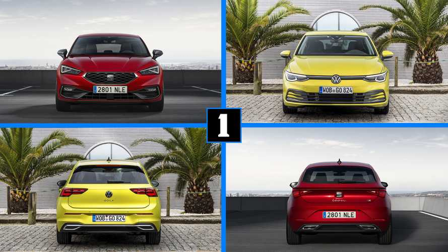 SEAT León 2020 vs. Volkswagen Golf 2020: ¿tan diferentes como parece?