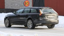 Volvo S90, V90 e V90 Cross Country, foto spia del restyling
