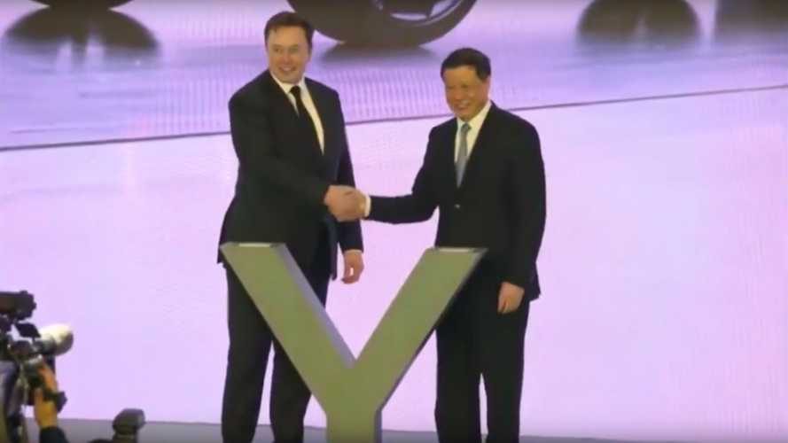 As Expected, Elon Musk Announces Model Y Program At Gigafactory 3