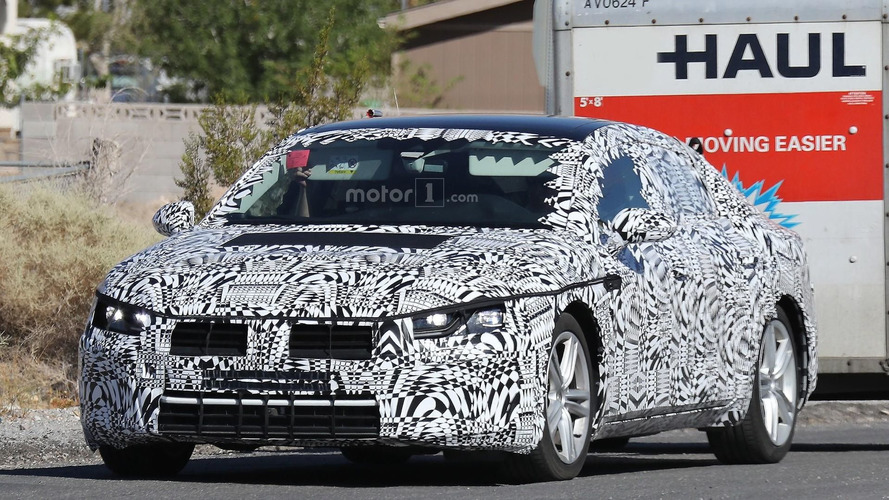 2018 Volkswagen CC spy photos
