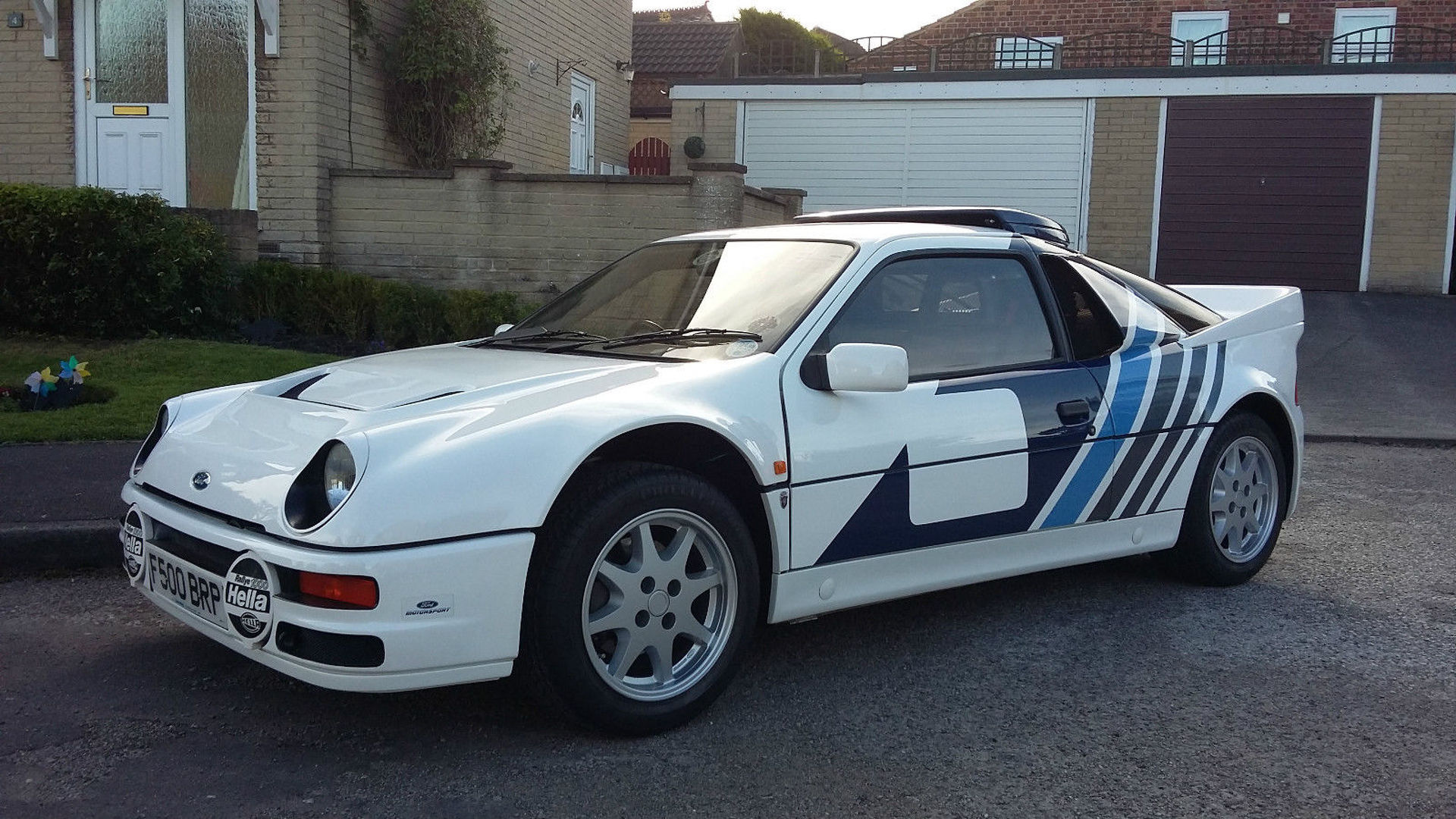Amazingly clean 1985 ford rs200 has driven just 1760 miles