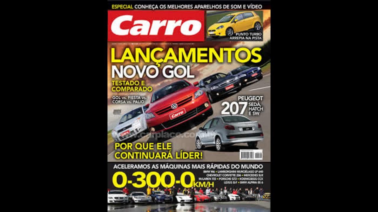 Revista CARRO de Julho chega às bancas dia 25/06 já com o NOVO GOL G5