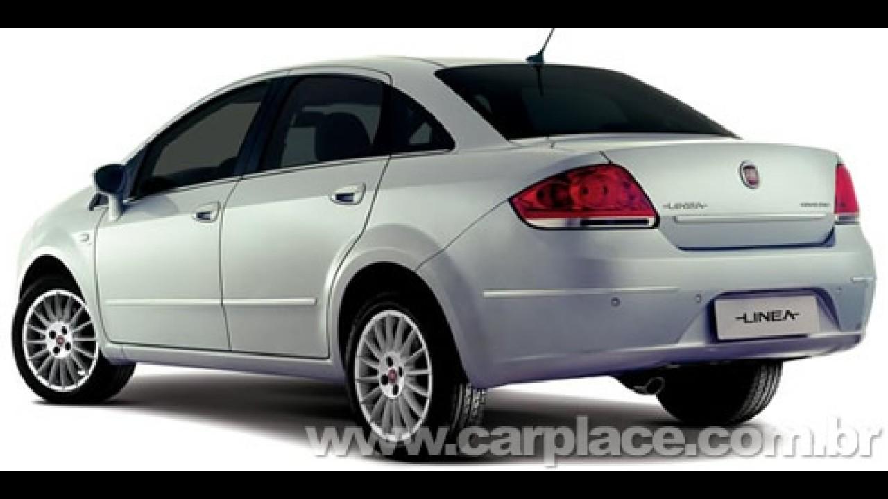 Fiat divulga primeiras fotos oficiais do novo Linea - Modelo chega em setembro