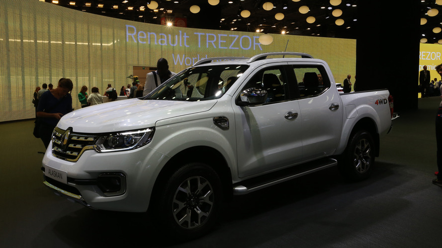Renault Alaskan estará no Salão do Automóvel, mas não como lançamento