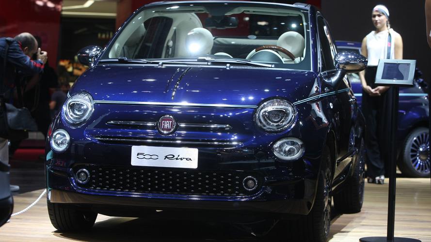 2016 Fiat 500 Riva 2016 Paris Otomobil Fuarı