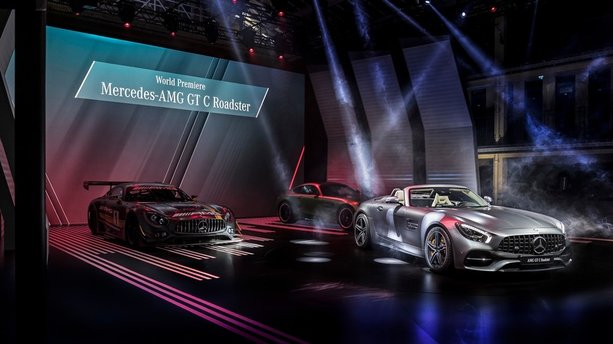 Mercedes-AMG GT C Roadster Paris Otomobil Fuarı