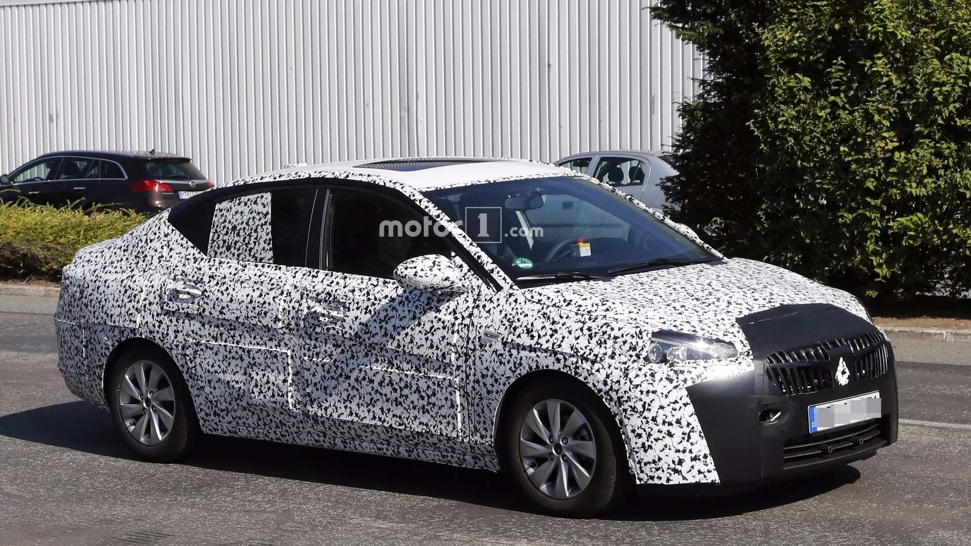 Opel Corsa Sedan Or Equivalent Buick Chevy Spotted
