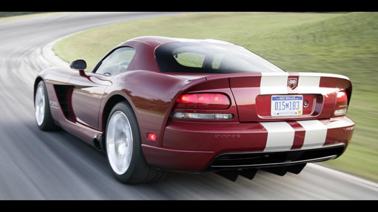 Chrysler confirma que o esportivo Dodge Viper vai continuar em produção