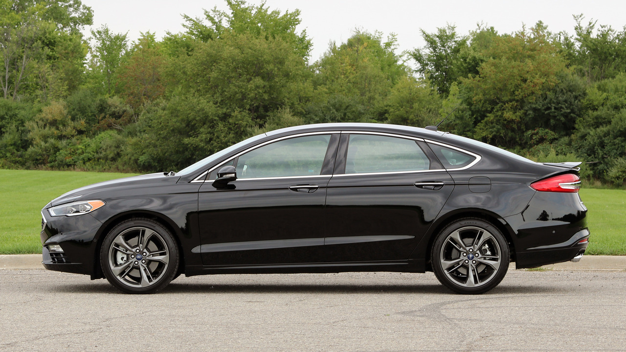 Ford Fusion Sport >> First Drive 2017 Ford Fusion V6 Sport