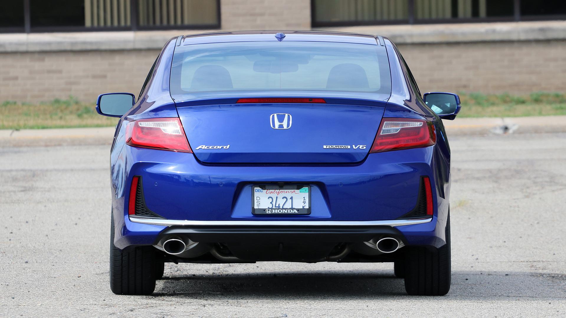 Review 2017 Honda Accord Coupe V6