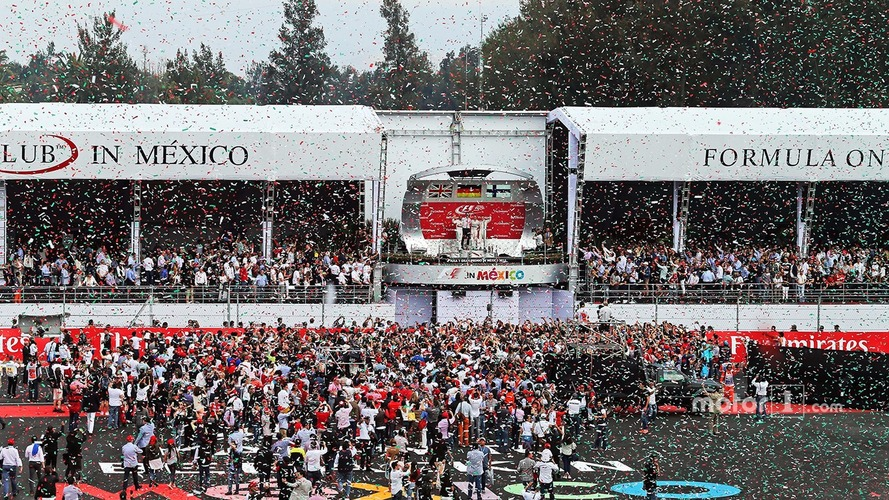 Mexican GP plans more spectacular podium celebrations