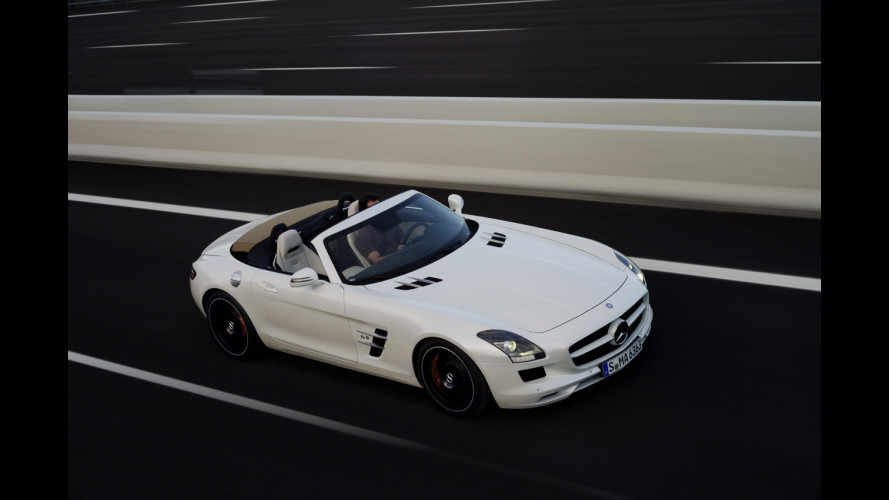 Mercedes SLS Roadster: i prezzi