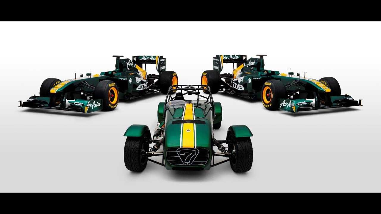 Caterham Team Lotus Special Edition Seven