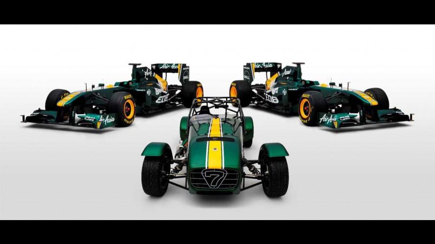 Il Team Lotus compra Caterham