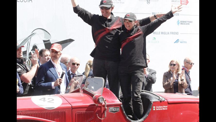 Mille Miglia 2014, la vittoria a Mozzi-Biacca su Lancia Lambda