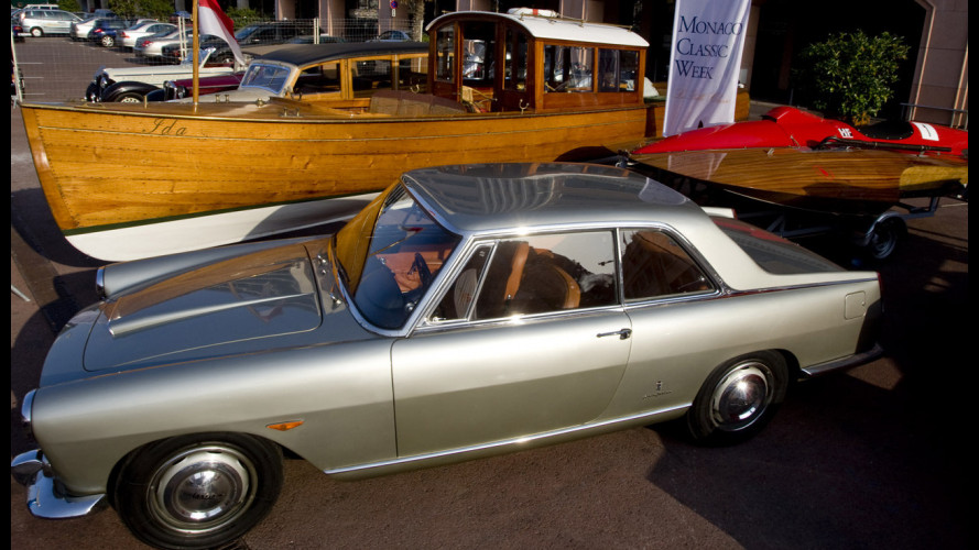 La Lancia Flaminia al Monaco Classic Week