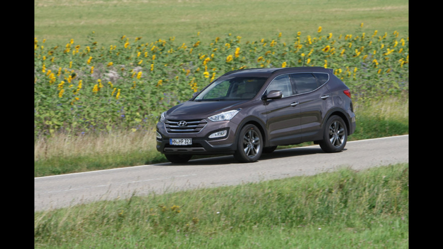 Nuova Hyundai Santa Fe, ix35 al quadrato