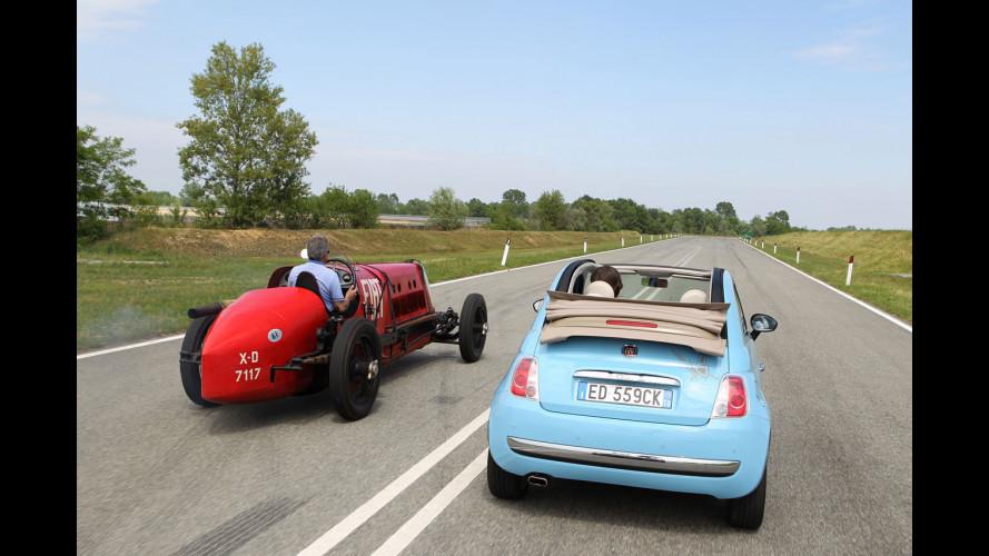 "Fiat ""Mefistofele"" vs Fiat 500 TwinAir"