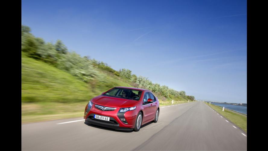 La prima Opel Ampera italiana è di LeasePlan