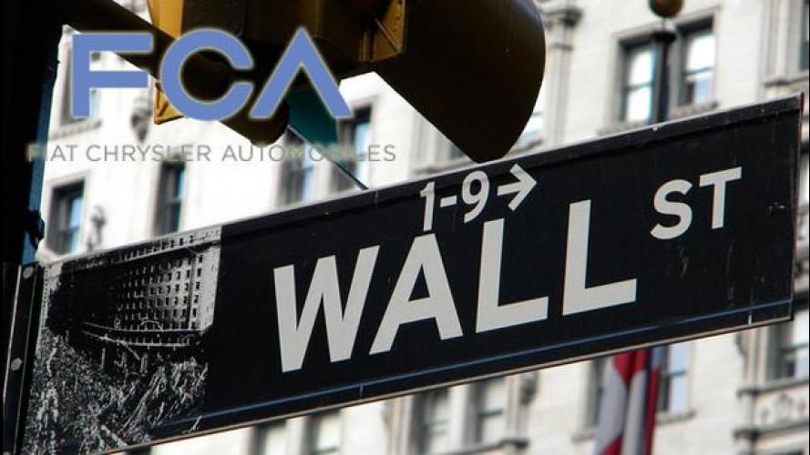 Fiat Chrysler Automobiles N.V. sarà quotata a Wall Street