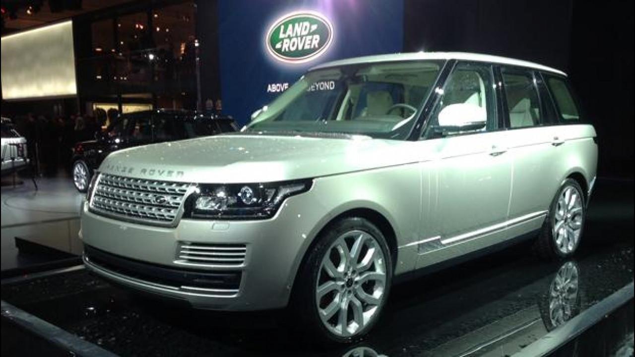 [Copertina] - Salone di Parigi: Opulenza ed eleganza Range Rover
