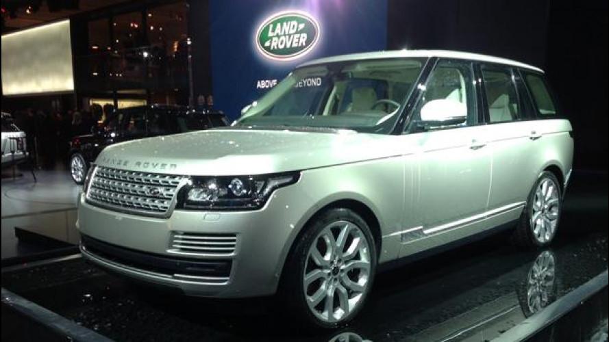 Salone di Parigi: Opulenza ed eleganza Range Rover
